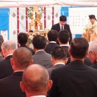 松原公民館地鎮祭