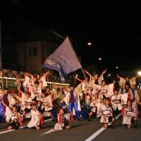 敦賀祭り(カーニバル大行進)に参加しました。